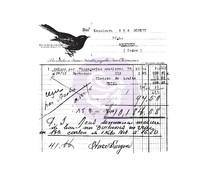 Finnabair Old Receipt Clear Stamp (966980)