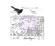 Prima Marketing Old Receipt Clear Stamp (966980)