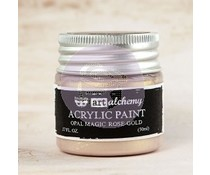 Prima Marketing Art Alchemy Acrylic Paint Opal Magic Rose Gold (963620)
