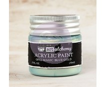 Prima Marketing Art Alchemy Acrylic Paint Opal Magic Blue Gold (963675)