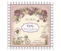 DayKa Trade Flores 8x8 Inch Paper Pad (SCP-1006)