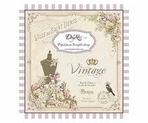 DayKa Trade Vintage 8x8 Inch Paper Pad (SCP-1005)