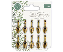Craft Consortium The Herbarium Trowels Metal Charms (CCMCHRM005)