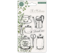 Craft Consortium The Herbarium Clear Stamps Utensils (CCSTMP012)