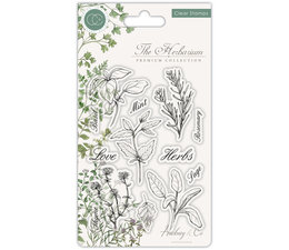 Craft Consortium The Herbarium Clear Stamps Herbs (CCSTMP011)