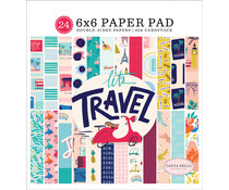 Carta Bella Let's Travel 6x6 Inch Paper Pad (CBLT100023)