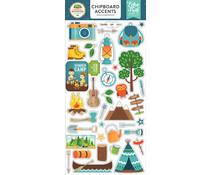 Echo Park Summer Adventure 6x13 Inch Chipboard Accents (SA80021)