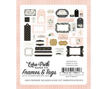 Echo Park Wedding Day Frames & Tags (WD181025)