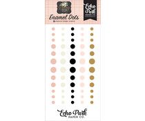 Echo Park Wedding Day Enamel Dots (WD181028)