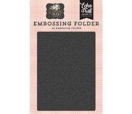 Echo Park Embossing Folder Elegant Damask (WD181032)