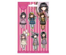 Gorjuss 3D Stickers (6pk) (GOR 157121)