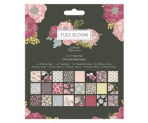 Papermania Full Bloom 6x6 Inch Paper Pad (PMA 160511)