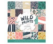 Papermania Wild Prints 12x12 Inch Paper Pad (PMA 160512)