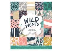 Papermania Wild Prints 6x6 Inch Paper Pad (PMA 160513)