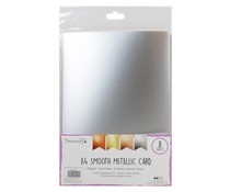 Dovecraft Metallic Smooth A4 Card Pack (DCBS207)