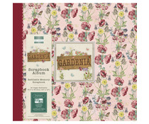 First Edition Gardenia 12x12 Inch Album Floral (FEALB090)