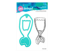 Spellbinders Mermaid Tail Swatch Stamp & Die Set (JDDS-048)