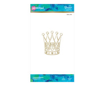 Spellbinders Crowned Royalty Hot Foil Plate (JDGL-006)
