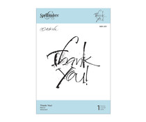 Spellbinders Thank You Clear Stamp (SBS-201)