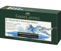 Faber Castell Watercolour Markers Albrecht Dürer Box (5pcs) (FC-160305)