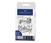 Faber Castell Drawing Pen Pitt Artist Set Handlettering Basic (8pcs) (FC-267118)