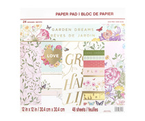 Craft Smith Garden Dreams 12x12 Inch Paper Pads (MPP0442)