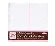 Anita's Tall Cards & Envelopes White (50pk) (ANT 1513020)