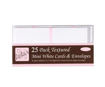 Anita's 4x4 Inch Cards & Envelopes White (25pk) (ANT 1515000)