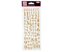 Anita's Glitterations Numbers Gold (ANT 8181004)