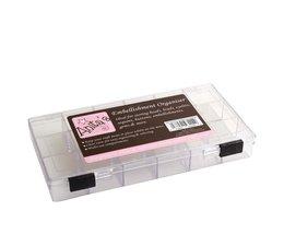 Anita's 8x4 Inch Embellishment Organiser Clear Plastic (ANT 9311001)