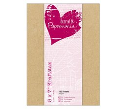 Papermania 5x7 Inch Kraftstax (100pk) (PMA 160606)