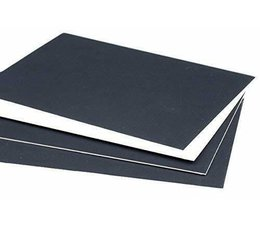 Docrafts A4 Mountboard Pack Black (1400mic) (RS319016)
