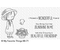 My Favorite Things Bring Out the Sunshine Clear Stamps (BB-71)