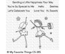 My Favorite Things Sweet Besties Clear Stamps (CS-385)