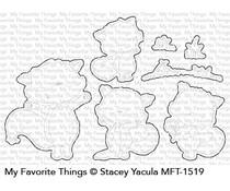 My Favorite Things Friendly Foxes Die-namics (MFT-1519)