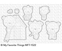 My Favorite Things Builder Bears Die-namics (MFT-1522)