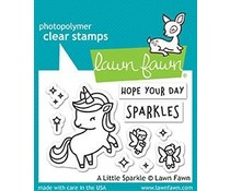 Lawn Fawn A Little Sparkle Clear Stamps (LF1818)