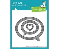 Lawn Fawn Stitched Speech Bubble Frames Dies (LF1991)