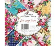 Decorer For my Love 6x6 Inch Paper Pack (DECOR-C28-231)