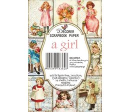 Decorer A Girl Paper Pack (DECOR-M67)