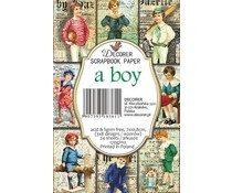 Decorer A Boy Paper Pack (DECOR-M68)