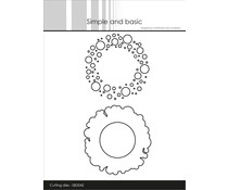 Simple and Basic Patterned Frames Circles Dies (SBD042)