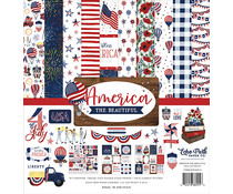 Echo Park America The Beautiful 12x12 Inch Collection Kit (ATB192016)