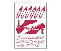 Stamperia Stencil A4 Warhol 2 (KSG176)