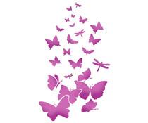 Stamperia Stencil A4 Butterflies (KSG318)
