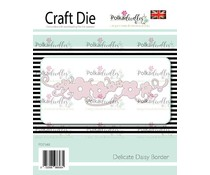 Polkadoodles Delicate Daisy Border Die (PD7548)