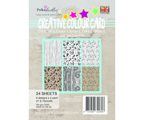 Polkadoodles Creative Colour Card Patterns A5 Pack (PD7910)