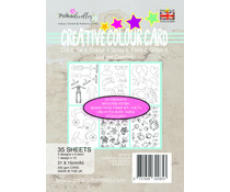 Polkadoodles Creative Colour  Bodies & Doodles A5 Card Pack (PD7915)