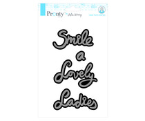 Pronty Crafts Lady Lovely Smile A5 Laser Foam Stamp (494.904.012)