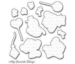 My Favorite Things Adorable Elephants Die-namics (MFT-0814)
